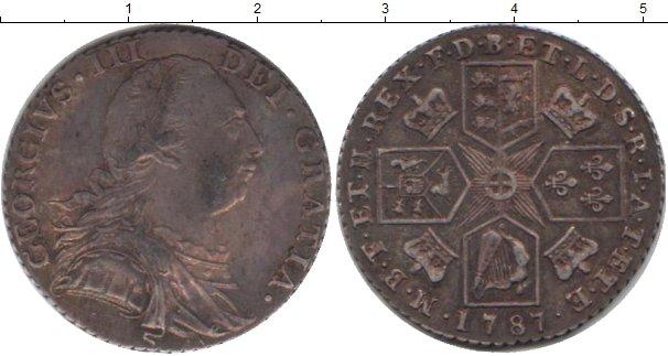Картинка Монеты Великобритания 1 шиллинг Серебро 1787