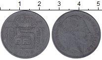 Изображение Мелочь Бельгия 5 франков 1941 Цинк VF Леопольд III. DES BE