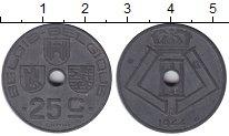 Изображение Мелочь Бельгия 25 сантим 1942 Цинк  Леопольд III. BELGIQ