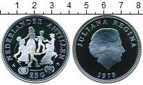 Изображение Монеты Антильские острова 25 гульденов 1979 Серебро Proof