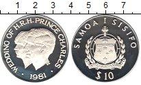 Изображение Монеты Самоа 10 долларов 1981 Серебро