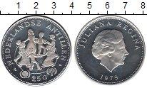 Изображение Монеты Антильские острова 25 гульденов 1979 Серебро