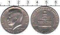 Изображение Мелочь США 1/2 доллара 1976 Медно-никель UNC- 200-летие США