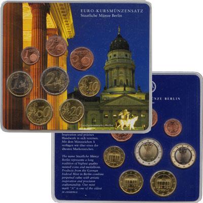 Изображение Подарочные наборы Германия Евронабор 2002 года 2002  UNC Евронабор 2002 года