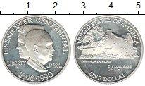 Изображение Монеты США 1 доллар 1990 Серебро Proof- Р