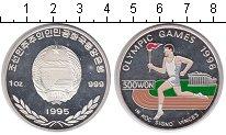 Изображение Монеты Северная Корея 500 вон 1995 Серебро Proof- Олимпийские игры 199