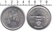 Изображение Монеты Мексика 1 унция 1980 Серебро UNC- KM# M49b.5