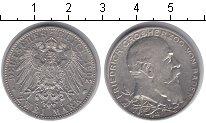 Изображение Монеты Баден 2 марки 1902 Серебро VF Фридрих