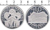Изображение Монеты Сан-Марино 10 евро 2008 Серебро Proof 500 лет со дня рожде