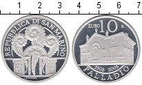 Изображение Монеты Сан-Марино 10 евро 2008 Серебро Proof