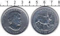 Изображение Монеты Канада 5 долларов 2013 Серебро UNC Газель