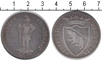 Изображение Монеты Берн 1/2 талера 1796 Серебро  KM# 151