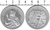 Изображение Монеты Швейцария 50 франков 1995 Серебро UNC- Штутзенфест Тун