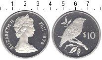 Изображение Монеты Фиджи 10 долларов 1978 Серебро Proof- Сохранение дикой при