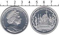 Изображение Монеты Виргинские острова 10 долларов 2002 Серебро  Елизавета II