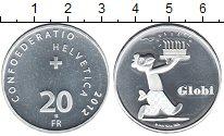 Изображение Монеты Швейцария 20 франков 2012 Медно-никель Proof-