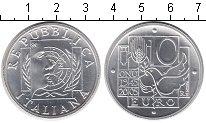 Изображение Монеты Италия 10 евро 2005 Серебро UNC 50-летие ООН