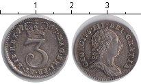 Изображение Монеты Великобритания 3 пенса 1763 Серебро XF Георг III. KM# 591