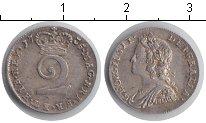 Изображение Монеты Великобритания 2 пенса 1735 Серебро XF Георг II. KM# 568