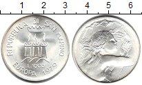 Изображение Мелочь Сан-Марино 1.000 лир 1979 Серебро UNC Европейский союз