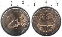 Изображение Мелочь Нидерланды 2 евро 2007 Биметалл UNC-