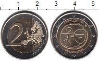 Изображение Мелочь Финляндия 2 евро 2009 Биметалл UNC- 10 лет Экономическом