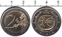 Изображение Мелочь Мальта 2 евро 2009 Биметалл UNC 10 лет Экономическом