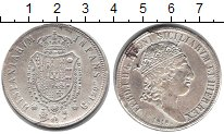 Изображение Монеты Италия Сицилия 120 гран 1818 Серебро