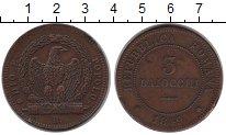 Изображение Монеты Италия 3 байоччи 1849 Медь