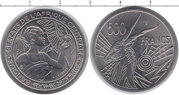 Картинка Монеты КФА 100 франков Медно-никель 1976