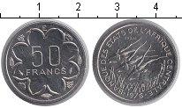 Изображение Монеты КФА 50 франков 1976 Медно-никель UNC-