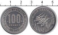 Изображение Монеты Центральная Африка КФА 100 франков 1971 Медно-никель UNC-