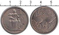 Изображение Монеты Новая Каледония 2 франка 1949 Алюминий XF Французский протекто