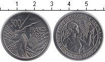 Изображение Монеты КФА 500 франков 1976 Медно-никель UNC- Essai