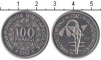 Изображение Монеты КФА 100 франков 1967 Медно-никель UNC- Essai