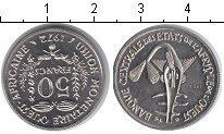 Изображение Монеты Западно-Африканский Союз 50 франков 1972 Медно-никель UNC- Essai