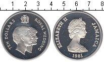 Изображение Монеты Ямайка 10 долларов 1981 Серебро Proof- Елизавета II
