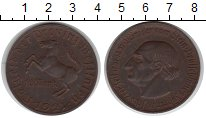 Изображение Монеты Германия Вестфалия 10 марок 1921 Медно-никель XF
