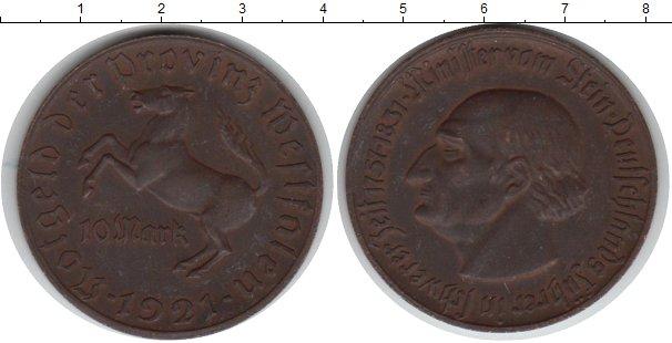 Картинка Монеты Вестфалия 10 марок Медно-никель 1921