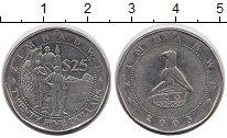 """Изображение Мелочь Зимбабве 25 долларов 2003 Медно-никель UNC- <font face=""""arial, s"""