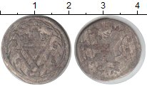 Изображение Монеты Германия Гессен 6 хеллеров 1656 Серебро XF
