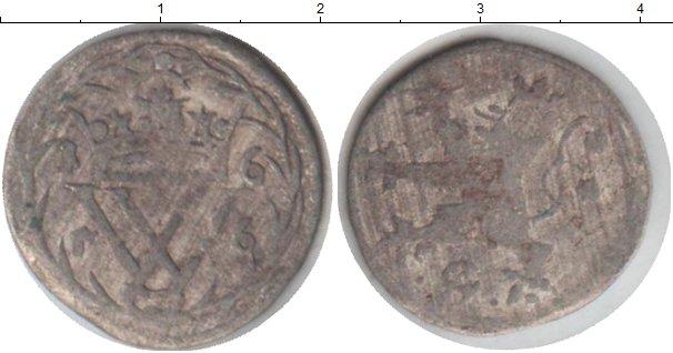 Картинка Монеты Гессен 6 хеллеров Серебро 1656