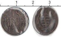 Изображение Монеты Саксония 1/48 талера 1812 Серебро  H