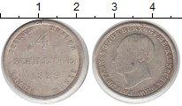 Изображение Монеты Мекленбург-Шверин 4 шиллинга 1829 Серебро  Фридрих Франц I