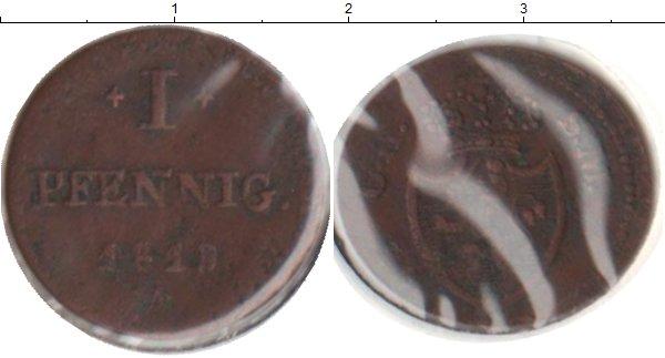 Картинка Монеты Гессен-Дармштадт 1 пфенниг Медь 1819