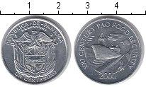 Изображение Мелочь Панама 1 сентесимо 2000 Алюминий AUNC ФАО