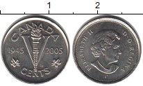 Изображение Мелочь Канада 5 центов 2005 Медно-никель UNC-