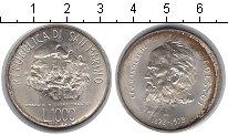 Изображение Монеты Сан-Марино 1000 лир 1978 Серебро