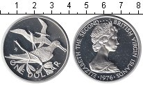 Изображение Монеты Виргинские острова 1 доллар 1976 Серебро Proof-