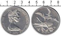 Изображение Монеты Виргинские острова 1 доллар 1974  UNC- Елизавета II